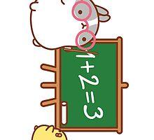 kawaii molang bunny teaching piu piu by rtown66