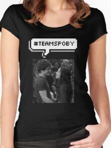 #TeamSpoby Women's Fitted Scoop T-Shirt