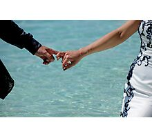 You and Me. Togetherness Photographic Print