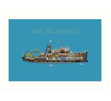 The Belafonte - The Life Aquatic Art Print