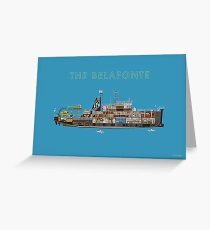 The Belafonte - The Life Aquatic Greeting Card