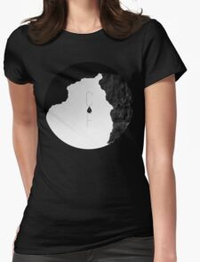 Caves & Forests Womens Fitted T-Shirt