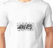 Wavves with background Unisex T-Shirt