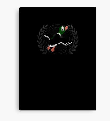 Duck Hunt - Sprite Badge Canvas Print