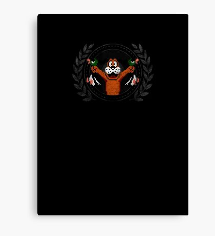 Duck Hunt - Sprite Badge 2 Canvas Print