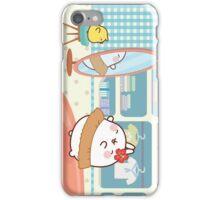 kawaii molang bunny hula iPhone Case/Skin