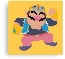 Smash Bros - Wario Canvas Print