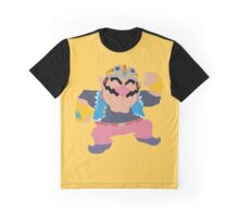 Smash Bros - Wario Graphic T-Shirt