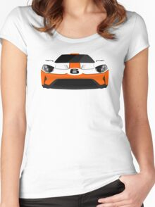 The Ultimate American Super Car in Racing livery Women's Fitted Scoop T-Shirt