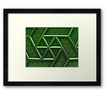 ©DA FS Helix Fraction IAV3. Framed Print