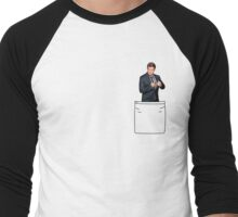 Pocket Nathan Men's Baseball ¾ T-Shirt