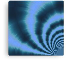 Ripple effect time travel Canvas Print
