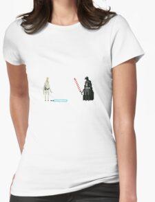 Luke Skywalker Womens Fitted T-Shirt