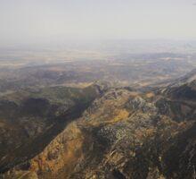 Flying Over Spanish Land I Sticker