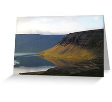 Evening in the Westfjords Greeting Card