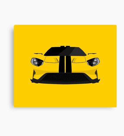 The Ultimate American Super Car Canvas Print