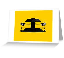 The Ultimate American Super Car Greeting Card