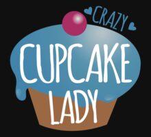 Crazy Cupcake Lady Baby Tee