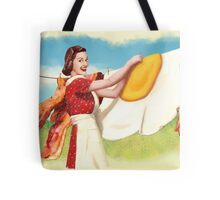 Peggy  Discovers Uppers Tote Bag