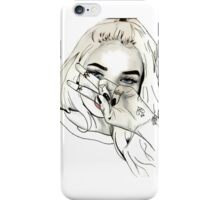 Pia Mia Pen Drawing iPhone Case/Skin