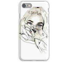 Pia Mia Pen Drawing iPhone Case/Skin