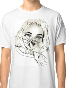 Pia Mia Pen Drawing Classic T-Shirt
