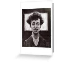 Charles Spencer Chaplin Greeting Card