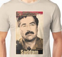Saddam Hussein  Unisex T-Shirt