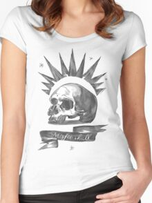 Chloe Price - Misfit Skull Women's Fitted Scoop T-Shirt