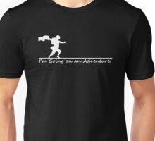 I'm Going on an Adventure! (White) Unisex T-Shirt