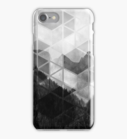 Forest Geometric Print iPhone Case/Skin
