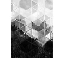 Forest Geometric Print Photographic Print