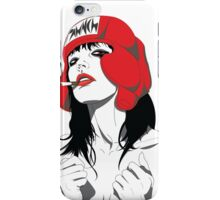 Boxing Chick iPhone Case/Skin