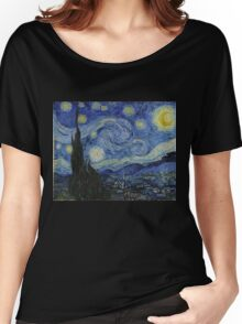 Vincent van Gogh - Starry Night Women's Relaxed Fit T-Shirt