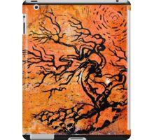 Old and Ancient Tree - Orange Tones  iPad Case/Skin