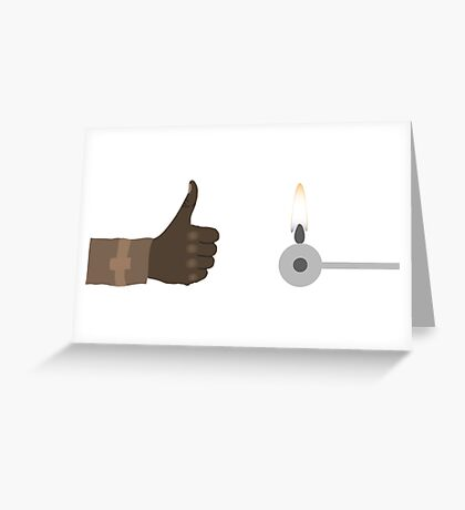 The Force Awakens Thumbs Up! Greeting Card