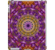 Kaleidoscope In Purple... iPad Case/Skin