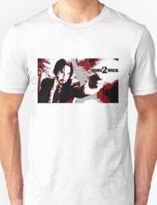 John Wick 2 Bloodied Red Design T-Shirt