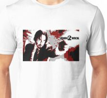 John Wick 2 Bloodied Red Design Unisex T-Shirt