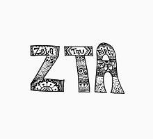 Zeta Tau Alpha Zentangle Unisex T-Shirt