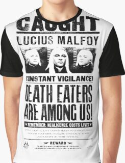 Caught Lucius Malfoy Graphic T-Shirt