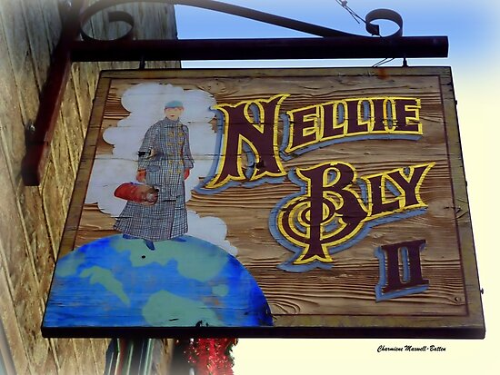 NELLIE BLY, pioneer as a woman Journalist by Charmiene Maxwell-Batten