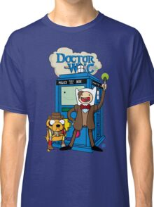 Finn and Jake Adventure Time Doctor Who Classic T-Shirt