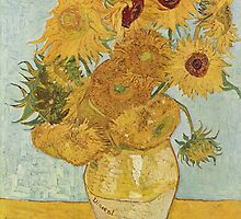 Vincent van Gogh - Sunflowers by mosfunky
