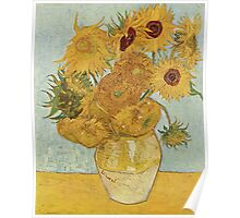 Vincent van Gogh - Sunflowers Poster