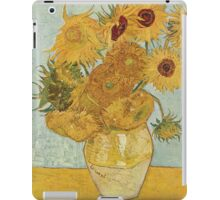 Vincent van Gogh - Sunflowers iPad Case/Skin