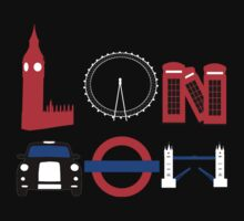 London (for stickers) by Hannah-C