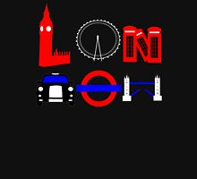 London (for stickers) Unisex T-Shirt