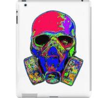 Toxic skull (pink) iPad Case/Skin