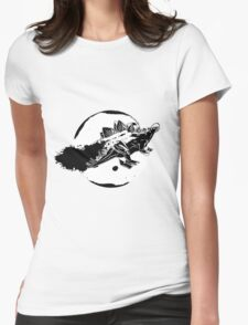 Steg In Space Womens Fitted T-Shirt